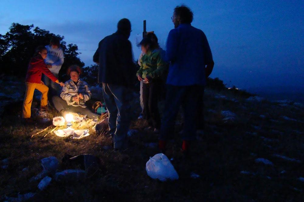 Escursione notturna sul Monte Tancia per guardare le stelle