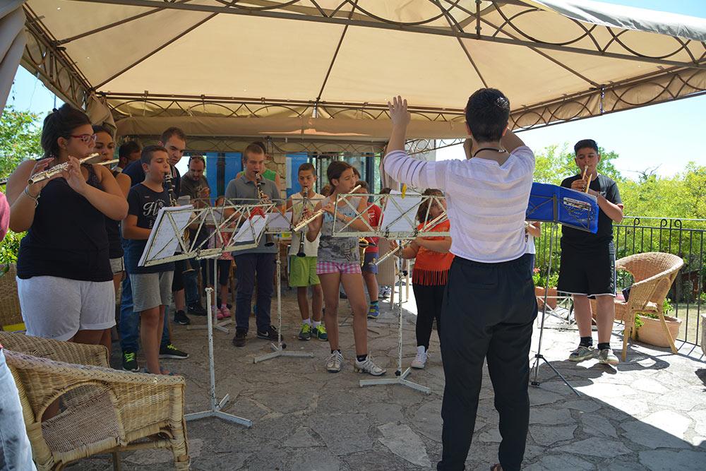 Prova generale della scuola estiva di musica