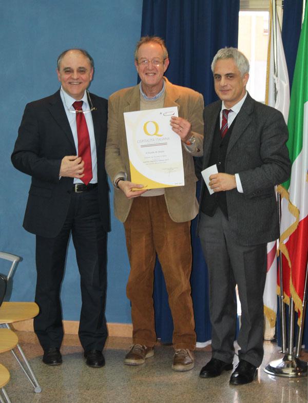 Certificato di Qualità alla Camera di Commercio di Rieti