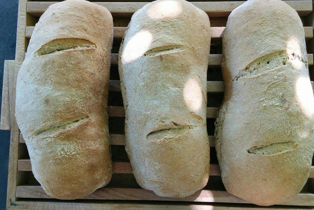 Pane del Fienile cotto a legna